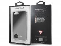 Guess Iridescent Case Zwart - iPhone 8+/7+/6+ hoesje