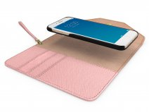 iDeal of Sweden Mayfair Clutch Roze - iPhone 8+/7+/6+ Hoesje