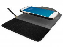iDeal of Sweden Mayfair Clutch Zwart - iPhone 8+/7+/6+ Hoesje