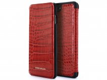 Karen Millen Folio Croco Rood - iPhone 8+/7+/6+ Hoesje
