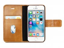 dbramante1928 Lynge Folio Tan - iPhone SE/5s/5 hoesje