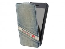 Diesel Denim Flip Case - iPhone SE / 5s / 5 hoesje