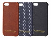 Scotch & Soda Leren Case - iPhone SE / 5s hoesje