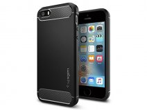Spigen Rugged Armor Case - iPhone SE / 5s / 5 hoesje