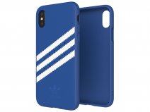 adidas Originals Back Case Blauw - iPhone X/Xs hoesje