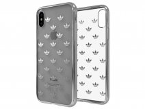 adidas Originals TPU Case Zilver - iPhone X/Xs hoesje