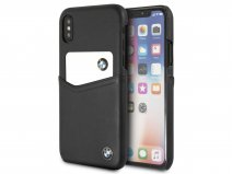 BMW Leather Card Case - Leren iPhone X/Xs hoesje