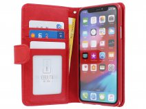 Zip Wallet Case Rood - iPhone X/Xs hoesje
