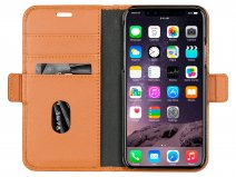 dbramante1928 New York Cognac - Leren iPhone X/Xs hoesje