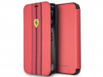 Ferrari Urban Bookcase Rood - iPhone X/Xs hoesje