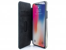 Greenwich Blake Tahiti Blue/Gunmetal - iPhone X/Xs hoesje
