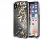 Guess Floating Logo Case Goud - iPhone X/Xs hoesje