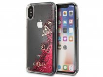 Guess Floating Logo Case Roze - iPhone X/Xs hoesje