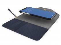 iDeal of Sweden Mayfair Clutch Navy - iPhone X/Xs Hoesje