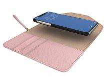 iDeal of Sweden Mayfair Clutch Roze - iPhone X/Xs Hoesje