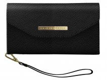 iDeal of Sweden Mayfair Clutch Zwart - iPhone X/Xs Hoesje