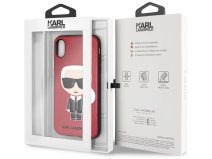 Karl Lagerfeld Iconic Case - iPhone X/Xs hoesje