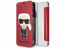 Karl Lagerfeld Iconic Bookcase - iPhone X/Xs hoesje