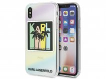 Karl Lagerfeld Karlifornia Dreams Case - iPhone X/Xs hoesje