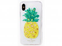 Kate Spade Jeweled Pineapple Case - iPhone X/Xs Hoesje