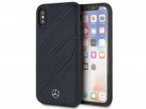 Mercedes-Benz Organic Case Navy - iPhone X/Xs Hoesje