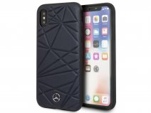 Mercedes-Benz Twister Case Navy - iPhone X/Xs Hoesje