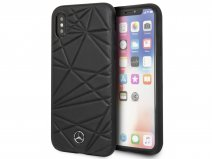 Mercedes-Benz Twister Case Zwart - iPhone X/Xs Hoesje