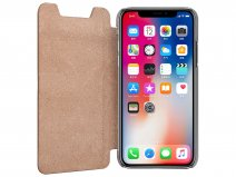 Pierre Cardin Slim Bookcase Bruin - iPhone X/Xs hoesje