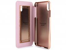 Ted Baker Elegant Mirror Folio Case - iPhone X/Xs Hoesje