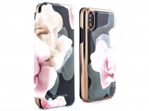Ted Baker Knowit Folio Case Black - iPhone X/Xs Hoesje