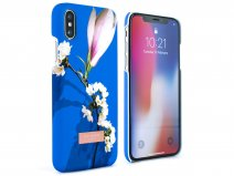 Ted Baker Zoeni Hard Shell Case Blauw - iPhone X/Xs Hoesje