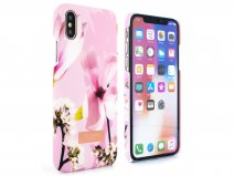 Ted Baker Zoeni Hard Shell Case Roze - iPhone X/Xs Hoesje