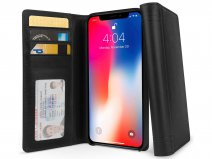 Twelve South Journal Zwart - Leren iPhone X/Xs hoesje