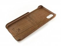 Woodcessories EcoCase Kevlar Walnut - iPhone X hoesje