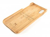 Woodcessories EcoCase Kevlar Bamboo - iPhone X/Xs hoesje