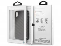 BMW Carbon Fiber Hard Case - iPhone XR hoesje