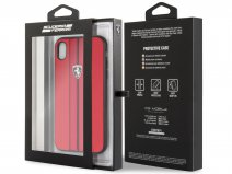 Ferrari Urban Hard Case Rood - iPhone XR hoesje