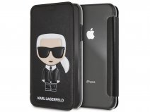 Karl Lagerfeld Iconic Bookcase - iPhone XR hoesje