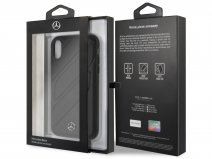 Mercedes-Benz Organic Case Zwart - iPhone XR Hoesje