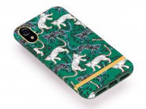 Richmond & Finch Green Leopard Case - iPhone XR hoesje