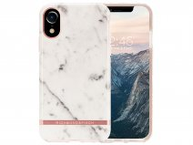 Richmond & Finch White Marble Case - iPhone XR hoesje