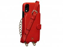 Sena Kyla Crossbody Wallet Rood - iPhone XR Hoesje