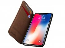 Twelve South SurfacePad Cognac - Dun Leren iPhone XR Hoesje