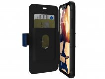 Urban Armor Gear Metropolis Blauw - iPhone XR hoesje