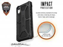 Urban Armor Gear Monarch Leer - iPhone XR hoesje