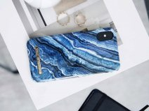iDeal of Sweden Case Indigo Swirl - iPhone X/Xs hoesje