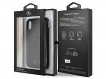 Mercedes-Benz Carbon Fiber Case - iPhone X/Xs Hoesje