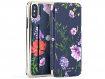 Ted Baker Cheryin Card Folio Case - iPhone X/Xs Hoesje