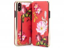 Ted Baker Kormila Card Folio Case - iPhone X/Xs Hoesje
