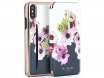 Ted Baker Neli Card Folio Case - iPhone X/Xs Hoesje